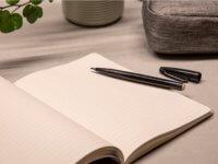 Notebook Notizbuch Kaffeesatz