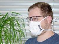 Mund-Nasen-Maske ohne Individualisierung