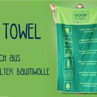 Good Towel Handtuch recycelt