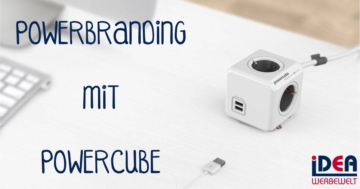PowerCubes mit Branding