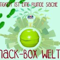 Bio Snack Box Weltkugel