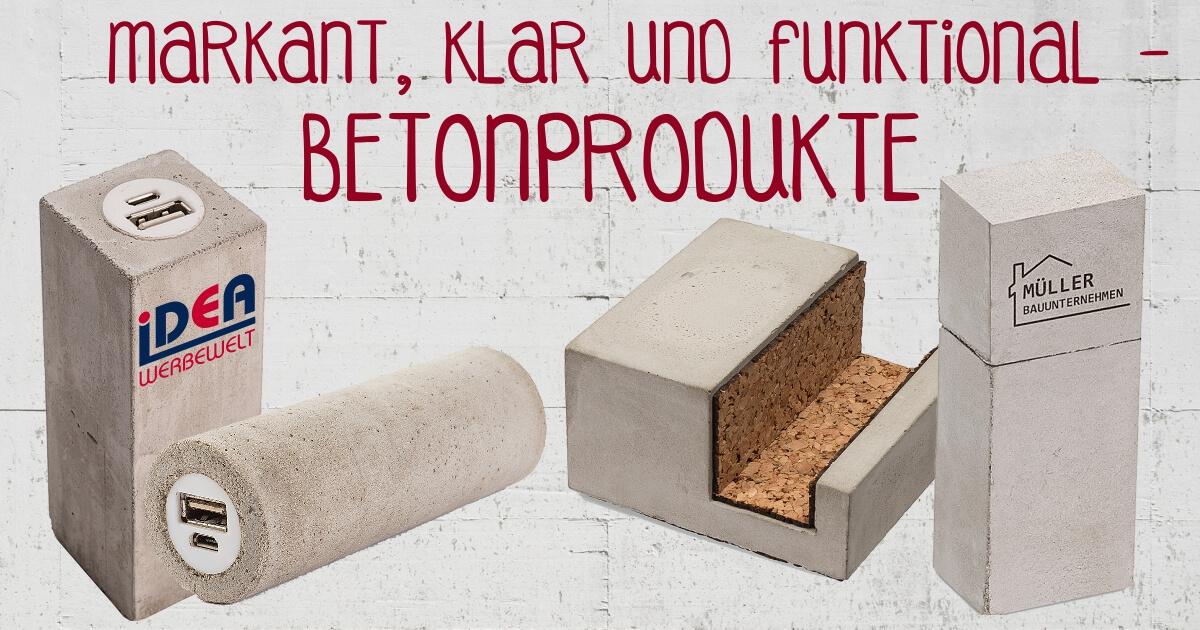 Produkte aus Beton Betonprodukte