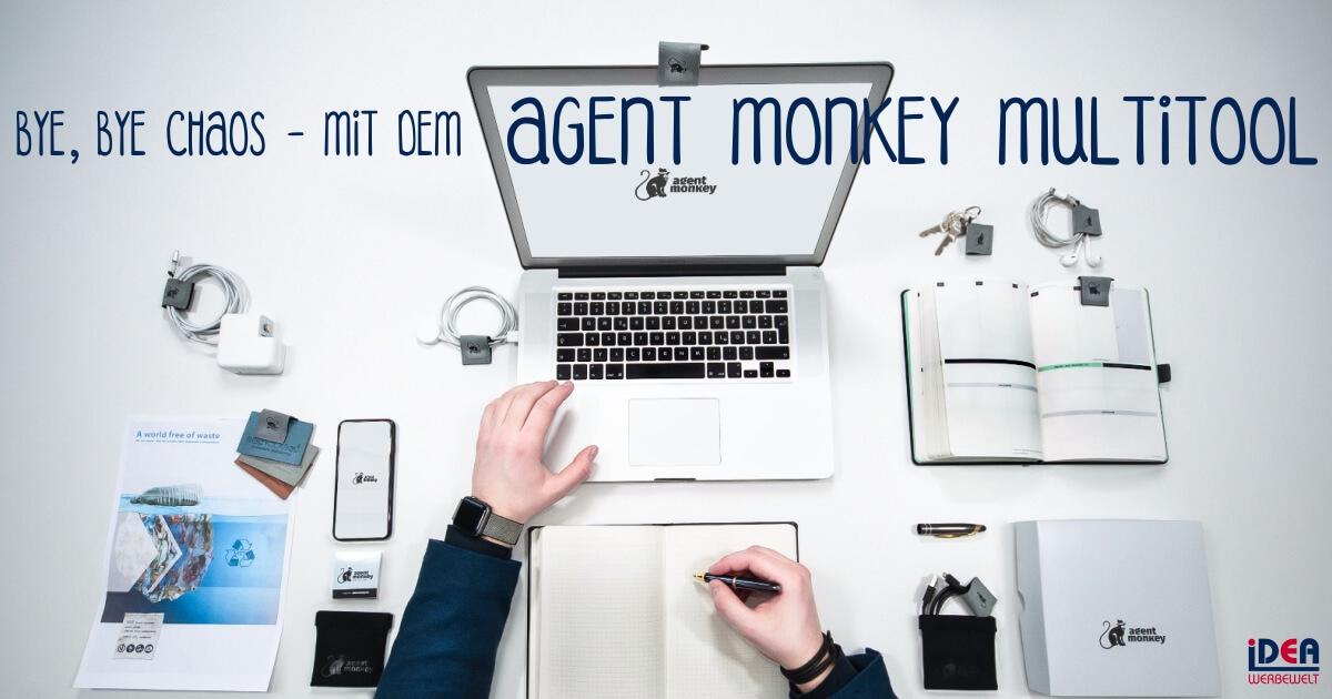 Agent Monkey Multitool Webcam-Cover Abdeckung Kopfhörer