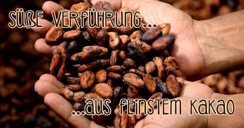 Schokolade aus feinstem Kakao aus kontrolliertem Anbau