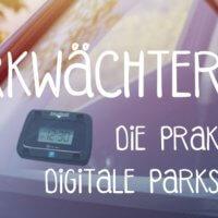Werbeartikel Parkscheibe digitale Parkscheibe Parkwächter