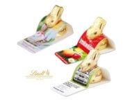 Ostern, Werbegeschenk Ostern, Schokohäschen, Lindt, Oster Giveaways