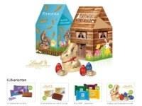 Oster-Giveaways Oster-Häuschen mit süßer Füllung