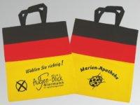 Tragetaschen BW WM Weltmeisterschaft Deutschland Baumwolle Baumwolltaschen Logo