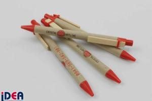 ökologische Kugelschreiber mit Logo bedruckt