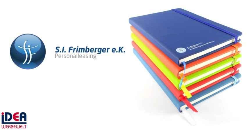 Notizbücher für Frimberger Personalleasing