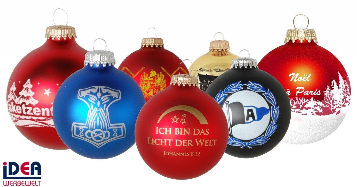 Riffelmacher Und Weinberger : christbaumkugeln festliche werbeartikel idea werbewelt ~ Watch28wear.com Haus und Dekorationen