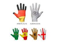 Deutschland WM Weltmeisterschaft Laola Logo Handschuh