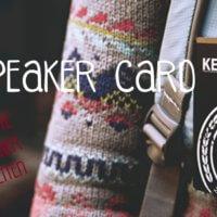 MagSpeaker card lautsprecher