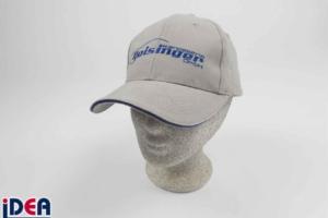 Baseball-Cap in Sonderanfertigung mit Logo bestickt