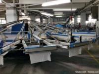 Siebdruckmaschine für bedruckte Werbeartikel