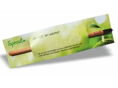 Sprout, der Bleistift, der wächst