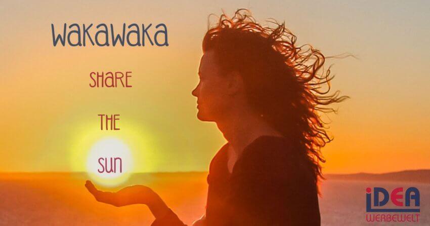 WakaWaka, Share The Sun, Solarlampe, USB-Ladegerät