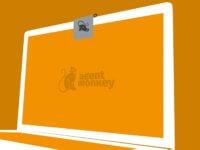 Agent Monkey Multitool Webcam Cover Abdeckung Kopfhörer