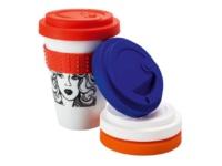 Werbetassen Coffe2Go Becher im Direkt Siebdruckverfahren