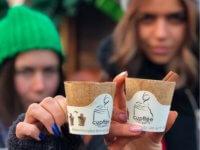 Cupffee die erste essbare Kaffeetasse