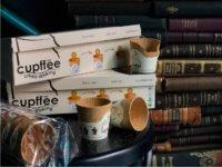 Cupffee die erste essbare Kaffeetasse verpackung