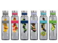 Boddels Trinkflaschen umweltfreundlich wiederverwendbar Glaskaraffe